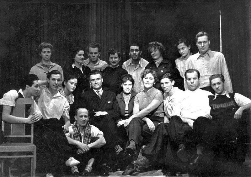 Школа-студия МХАТ, выпуск 1956 года
