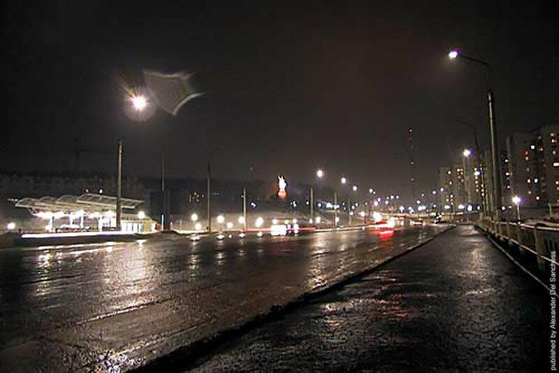 Ночной Белгород 1999, фото из коллекции Sanchess.jpg