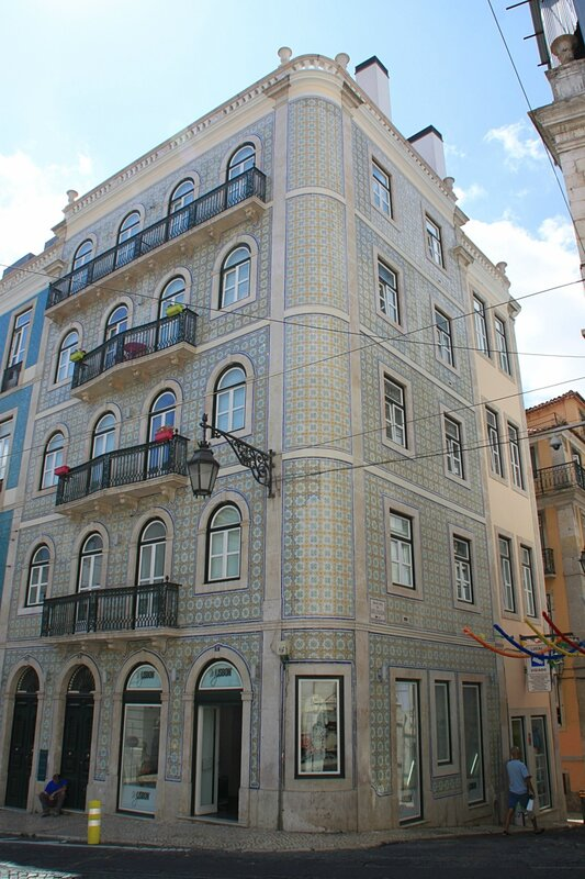 Азулежу в Лиссабоне (Azulejos in Lisbon)