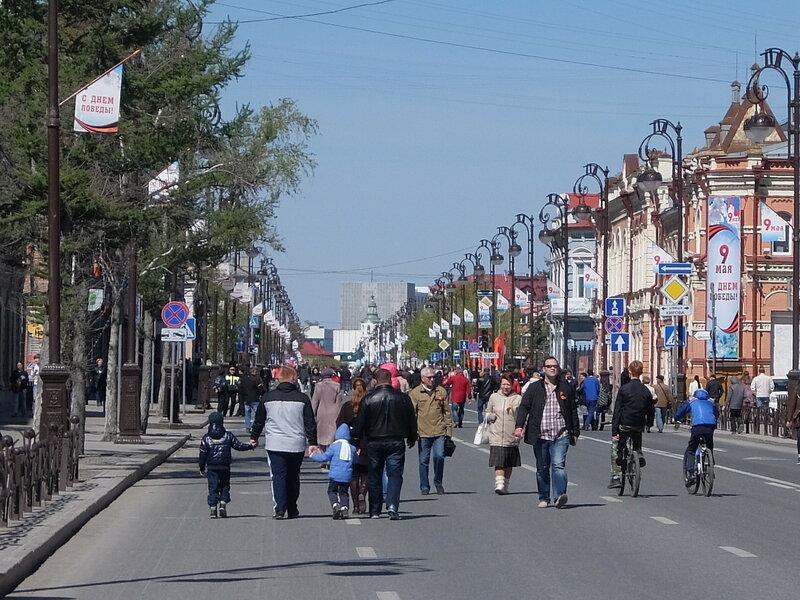 Тюмень - Улица Республики