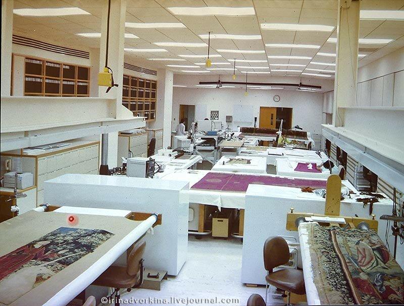 Реставрация тканей в Метрополитен-музее-10