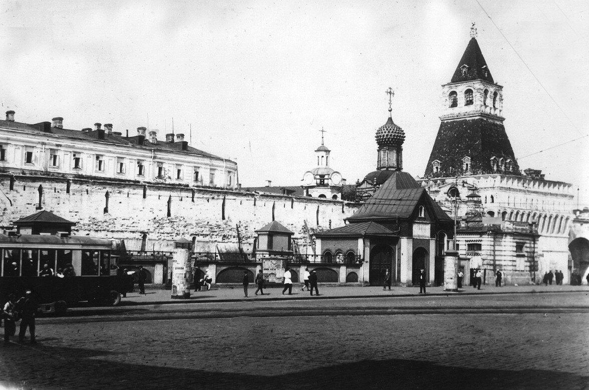 7584 Лубянская площадь. Владимирские ворота 1928.jpg
