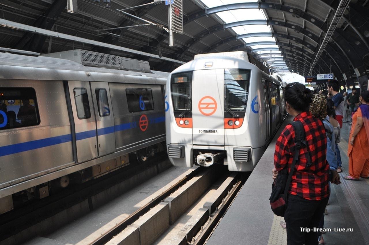 Поезда делийского метро