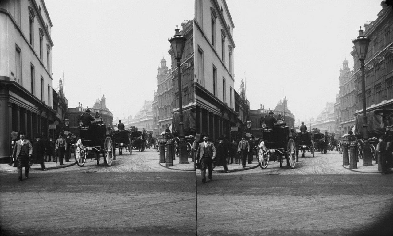 1890. Станция на Ливерпуль-стрит