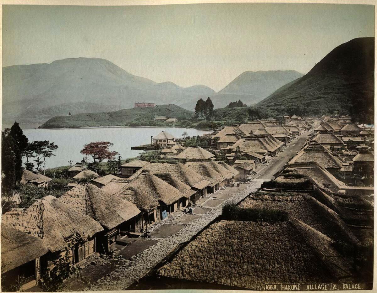 Хаконэ. Деревня и дворец
