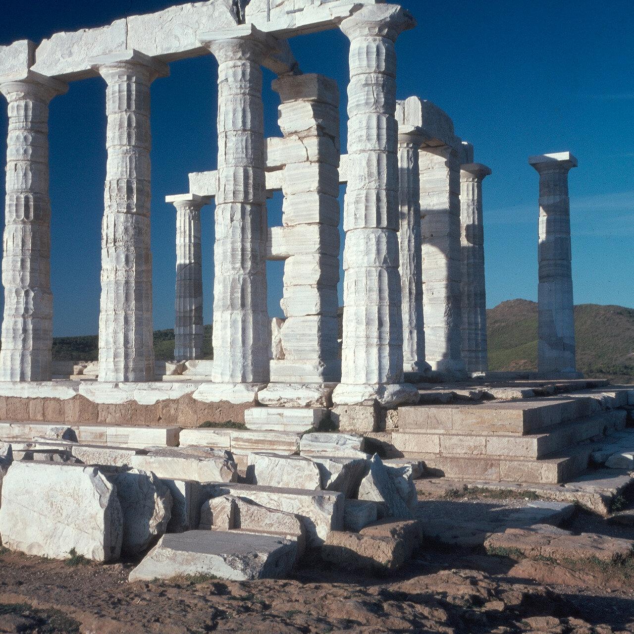 Храм Посейдона. Вид с юго-востока