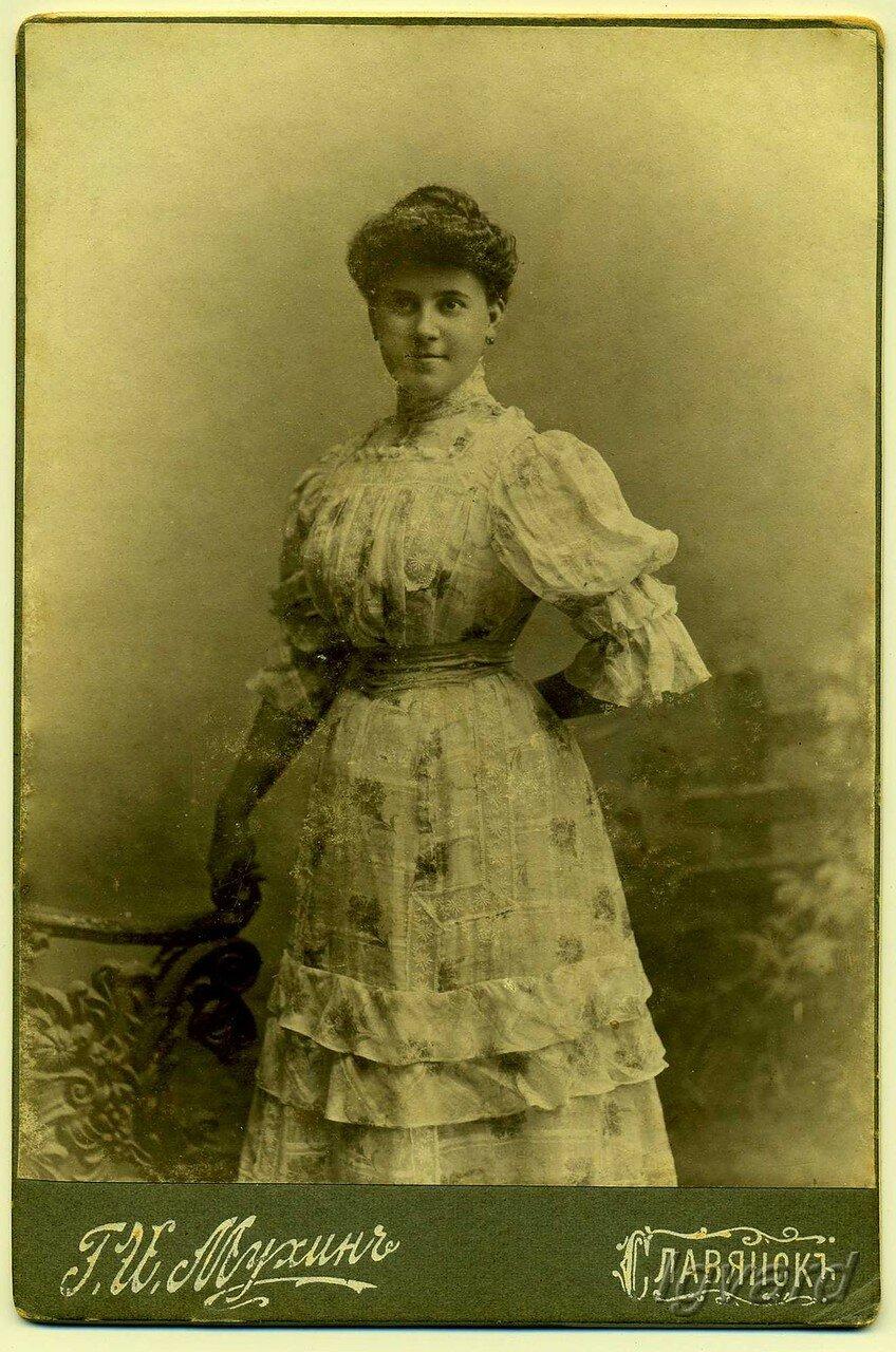 Жена И.С. Еременко – Анна. 1902