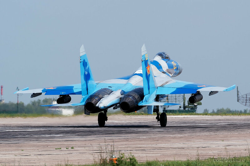 Сухой Су-27С (09 желтый) ВВС Казахстана 1590_D805674