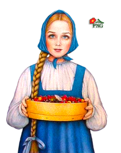 Russian people clipart