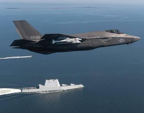 F-35 и Zumwalt: Новейшая военная техника США поражает воображение