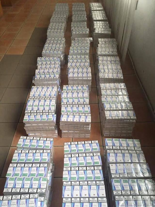 Налоговики задержали на Закарпатье партию сигарет на 450 тыс. грн