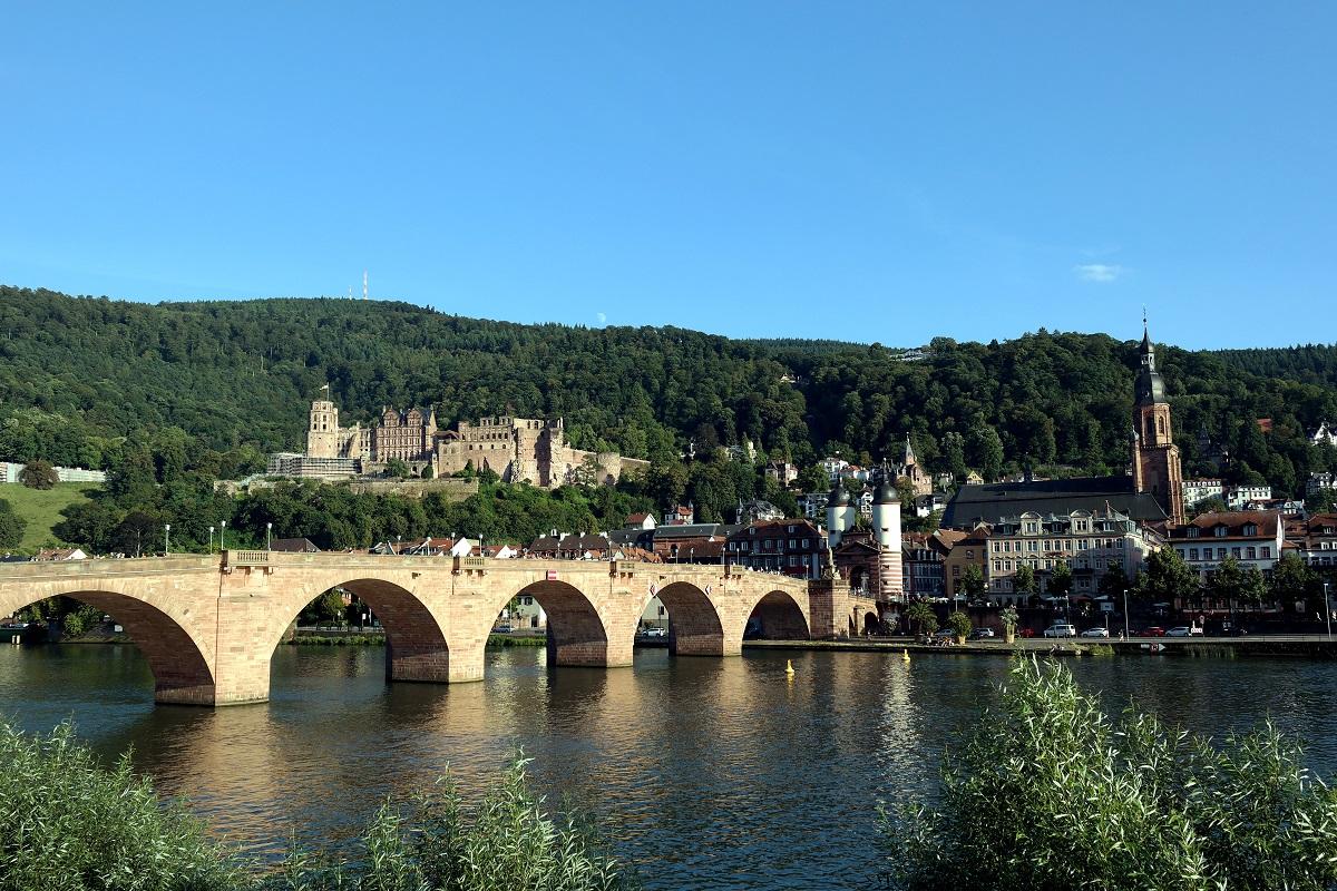 Хайдельбург, старый мост