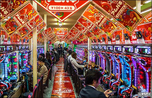 Игровые автоматы пачисуро - многоликое японское казино
