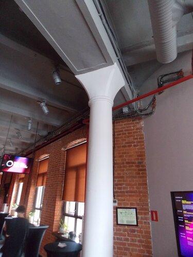 Чугунные колонны Красного Октября в Digital October