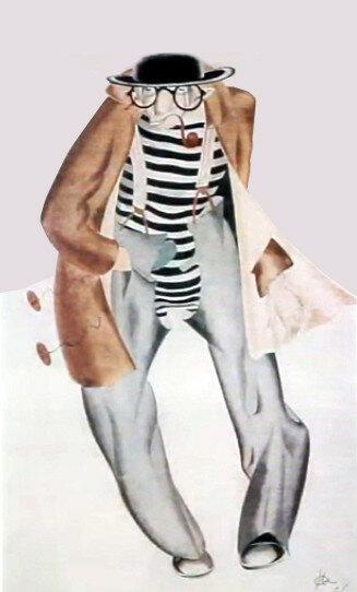 Партия честных людей  (Женитьба Труадека) Ж. Ромена, 1927  эскиз мужского костюма.jpg