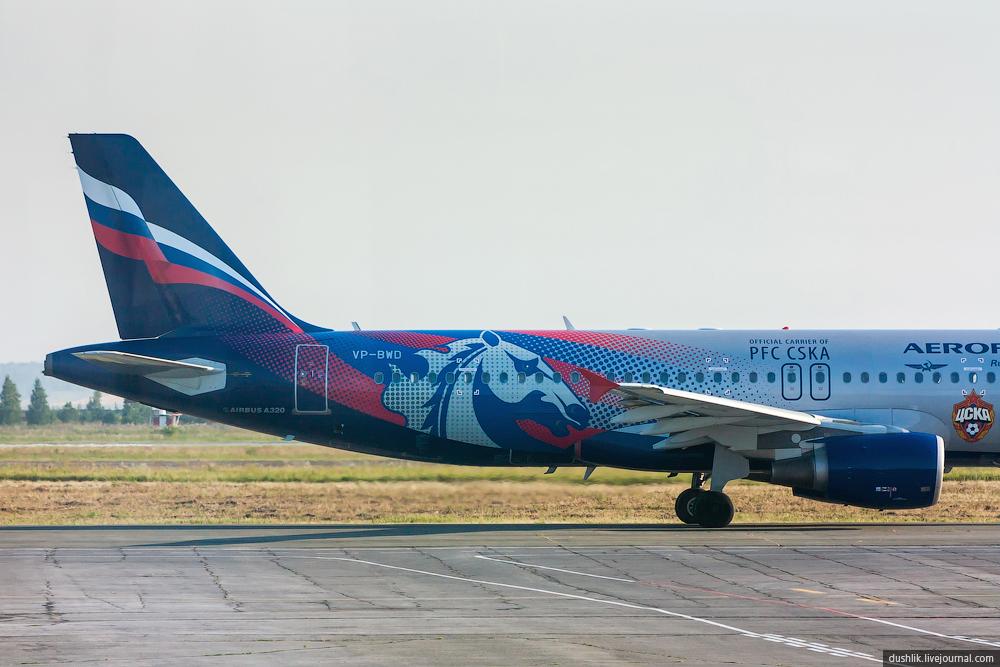 самолёт цска фото