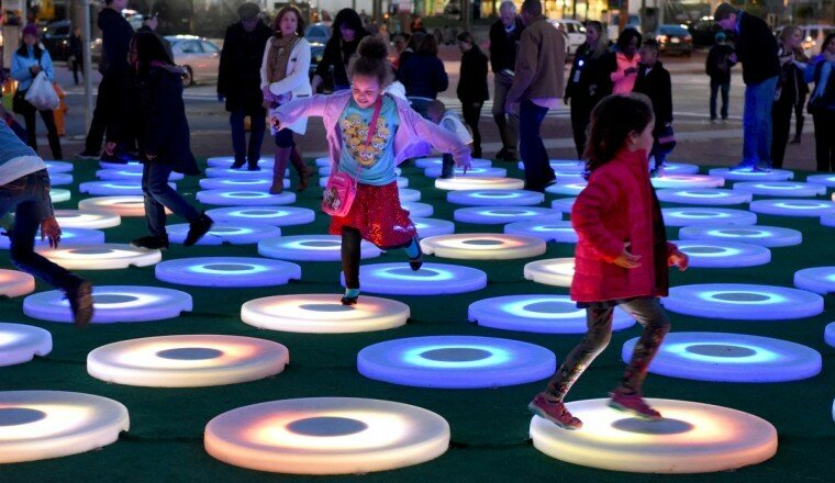 Light City: фотографии красочного фестиваля огней в Балтиморе 0 22c122 276427be XL