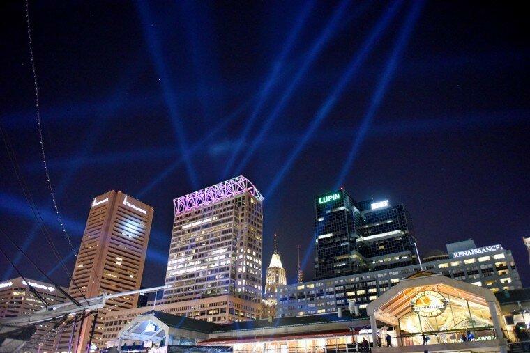 Light City: фотографии красочного фестиваля огней в Балтиморе 0 22c127 50ef91fc XL