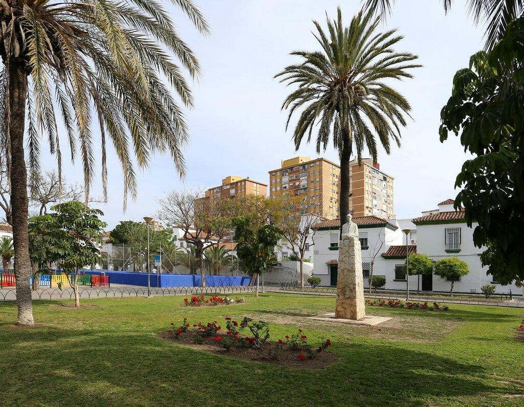 Малага. Plaza Manuel Martín Molina
