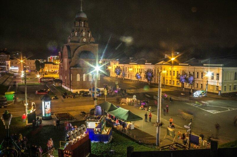 День города 2016: Ночь
