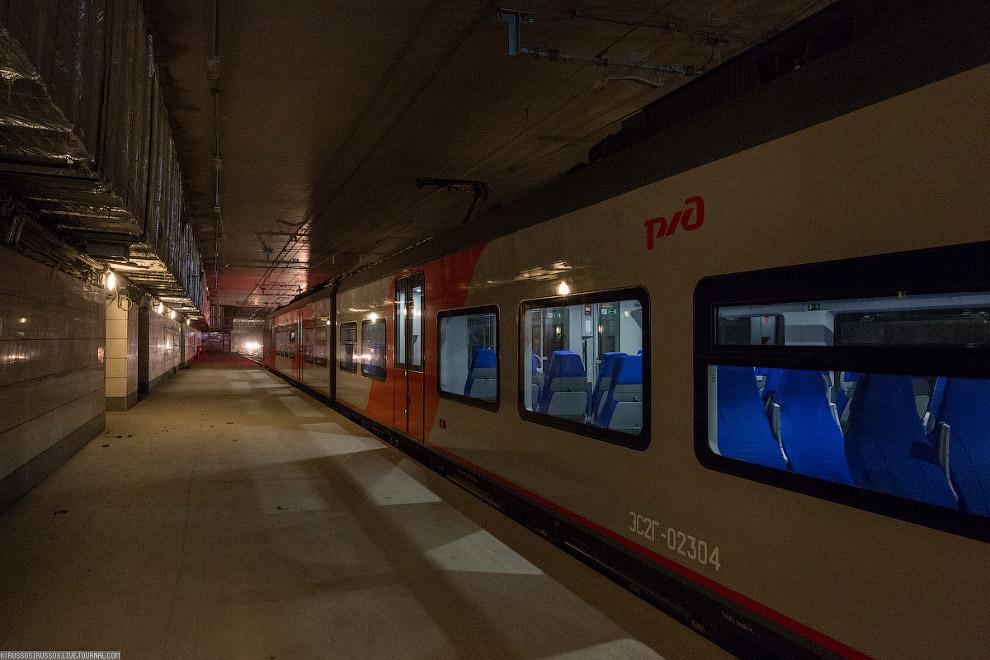 13. Чтобы обеспечить высокую частоту движения поездов на Московском центральном кольце, внедрен