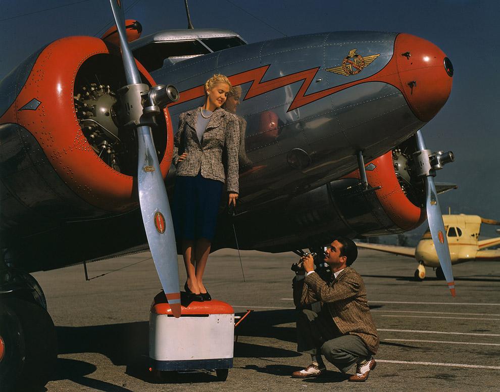 15. Lockheed Model 12 Electra Junior — восьмиместный пассажирский самолет (два пилота и шесть п