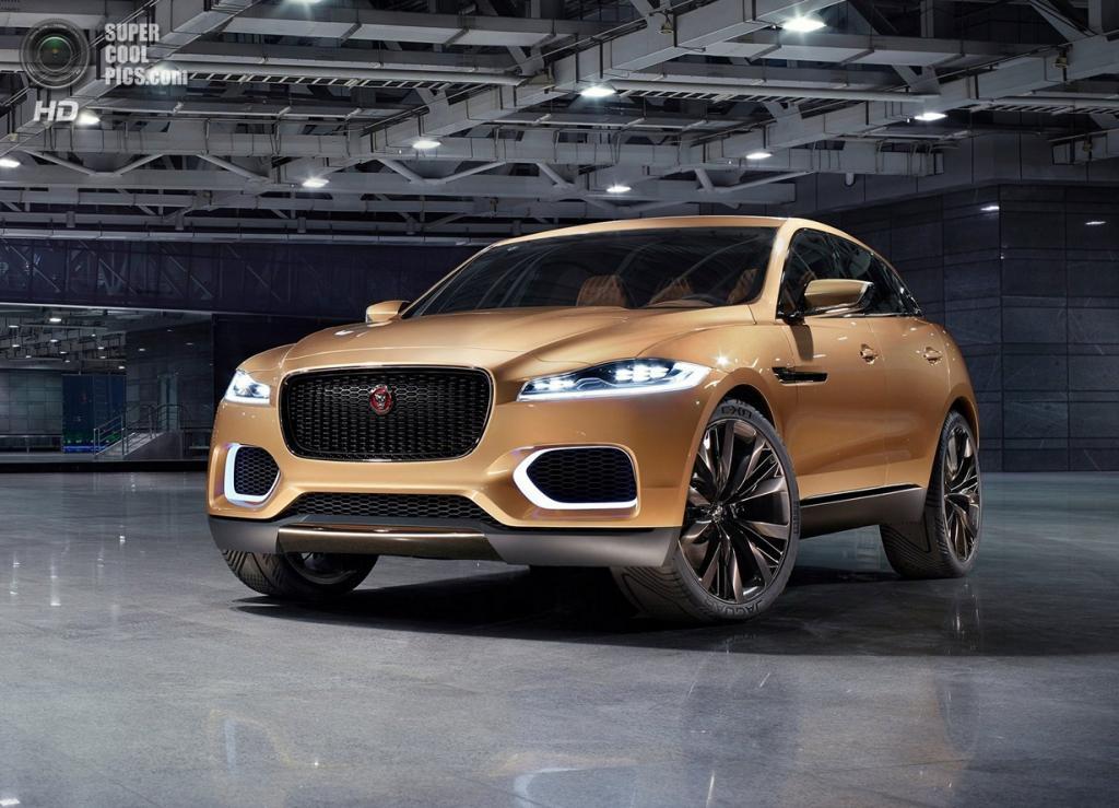 Первый кроссовер Jaguar: Роскошь во всём (26 фото)