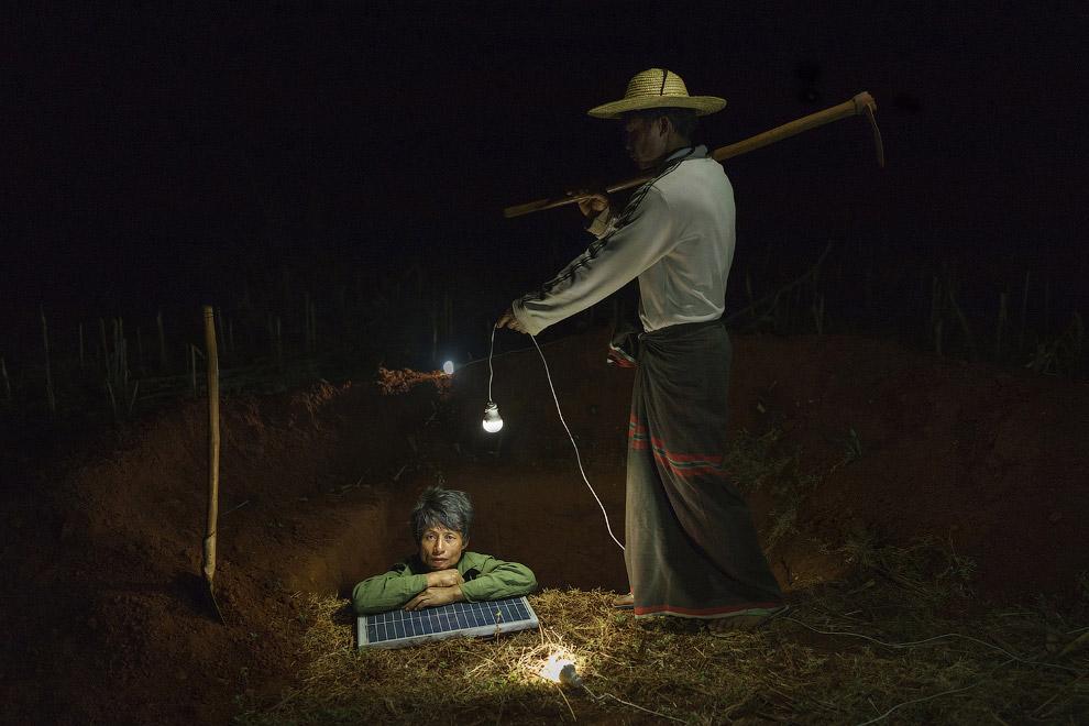 13. Победитель в категории «Спорт» . Борьба женщин-фермеров из сельской местности в Боливии. (Ф