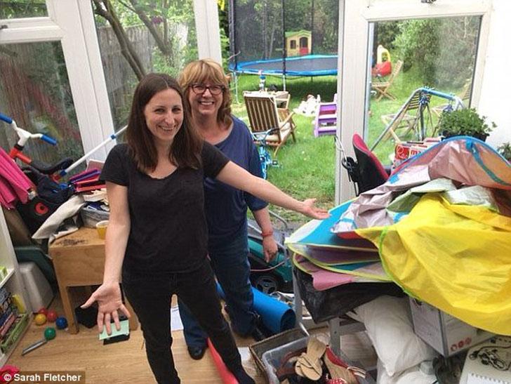 Правда ли Сара собиралась надеть туфли, которые она даже не видела четыре года? Беверли попросила кл