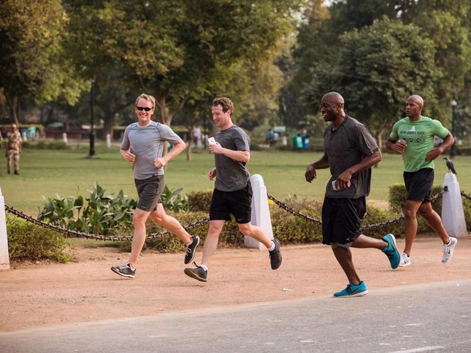 8. Здоровье и спорт — 14,8%. Основатель Facebook Марк Цукерберг любит бегать.
