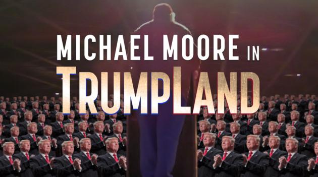 Американский кинорежиссер Майкл Мур тайно снял фильм оДональде Трампе