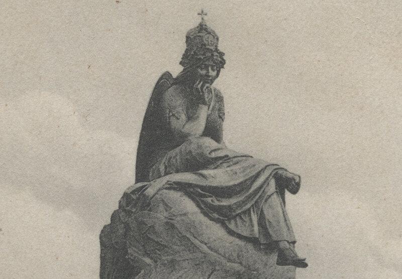 Bismarckbrunnen Flensburg - 1906 - Germania
