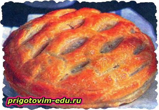 Английский пирог с огурцами
