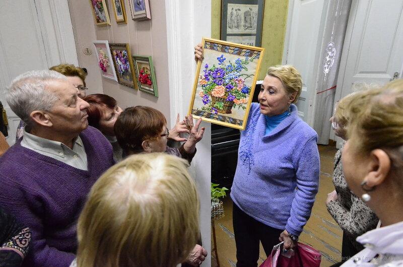 Королевство цветных зеркал и дивные букеты, Саратов, этнографический музей, 12 февраля 2016 года