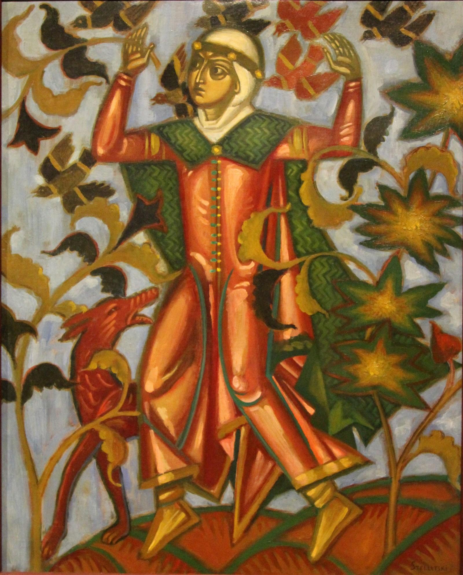 Стеллецкий Д.С. 1875-1947 Сказка. Холст, масло. Из корпоративной коллекции Белгазпромбанка