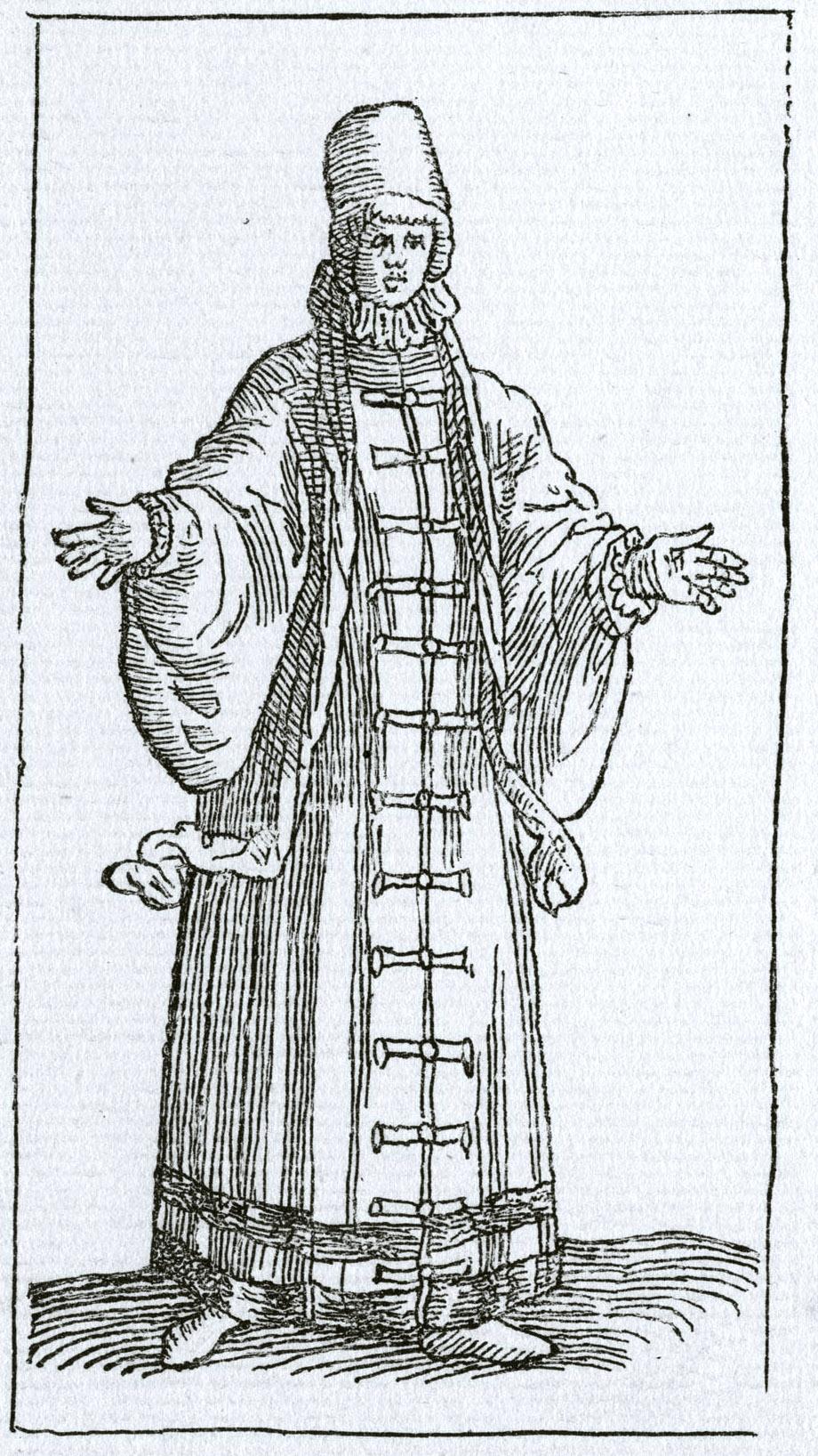 138. Гравюра из книги Чезаре Вечеллио, 1598