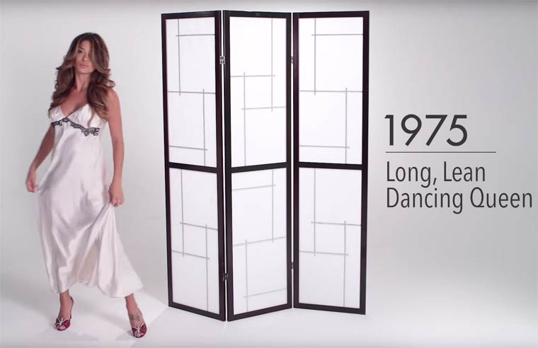 100 years of Lingerie in three minutes - The evolution of women's underwear