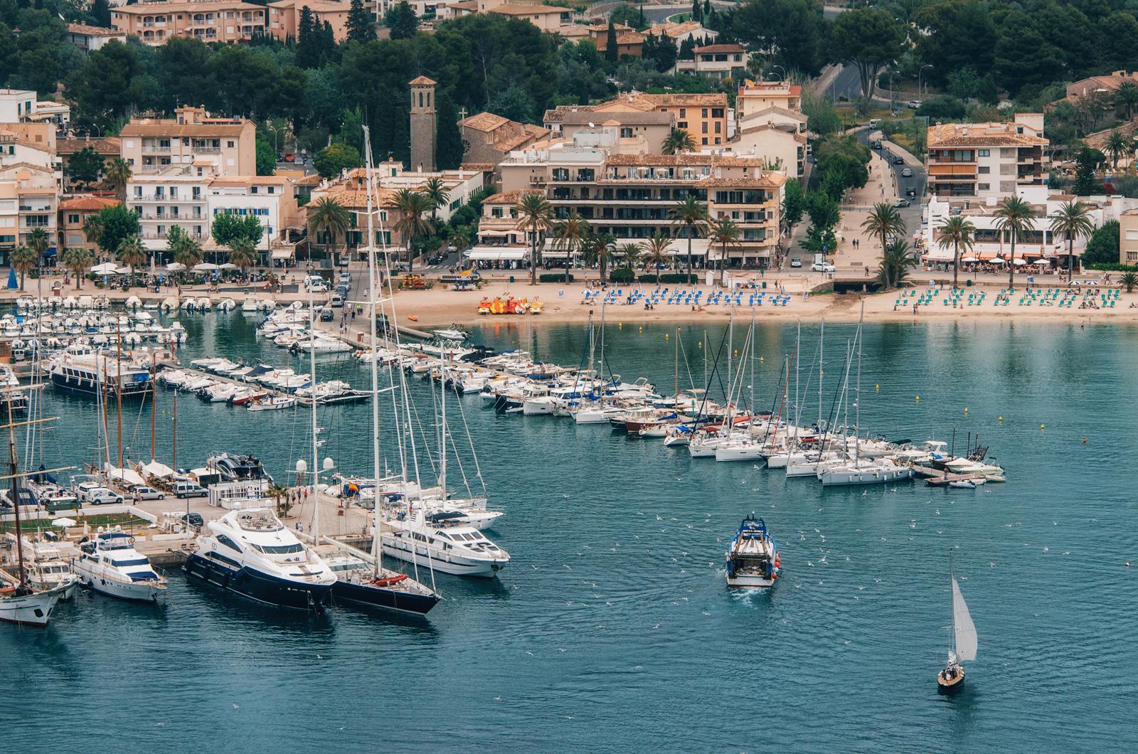 Пристань Порт-де-Сольера