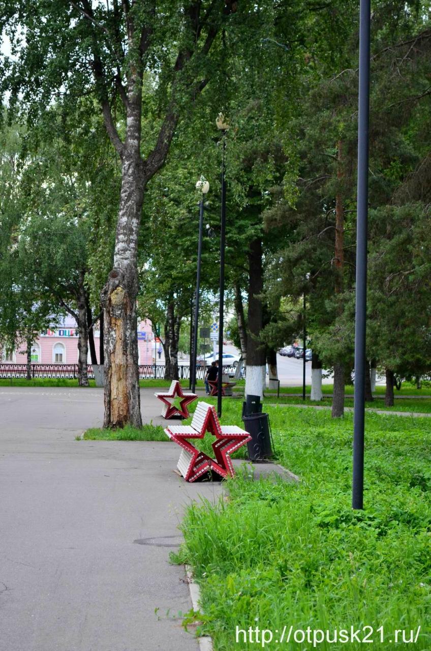 Площадь Революции в Вологде, Кировский сквер