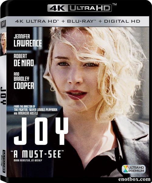 Джой / Joy (2015/BD-Remux/BDRip/HDRip)