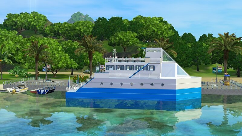 Yacht Blue Dream by ihelen