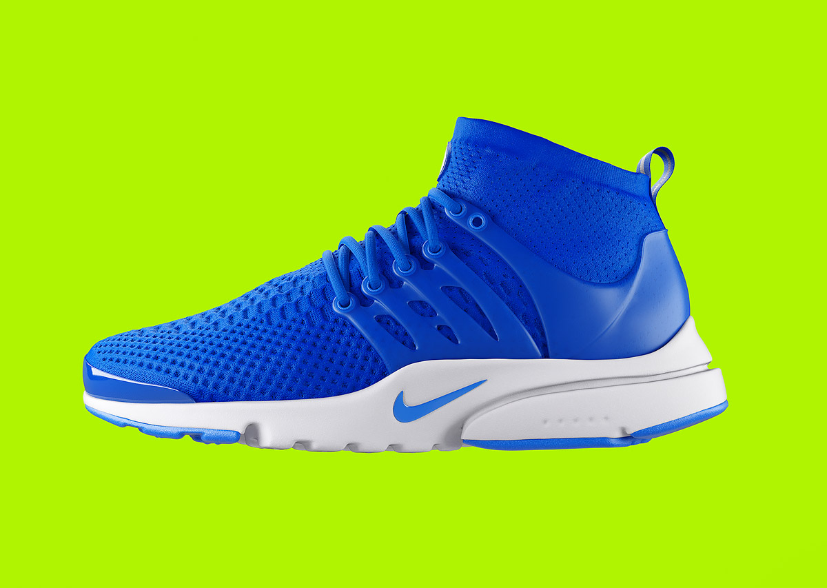 Nike Presto Ultra Flyknit: Digital Illustrations by Chris Labrooy