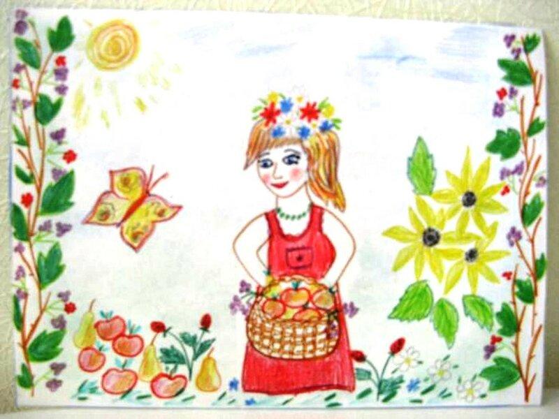 Красавица весна - Демина Анна, 7 лет, Тема -- Рисунок, г. Сергиев Посад.jpg