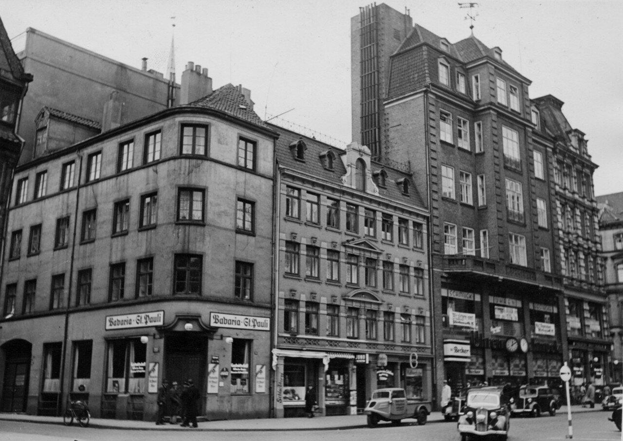 Гамбург. Дома, снесенные во время строительства Дома Прессы