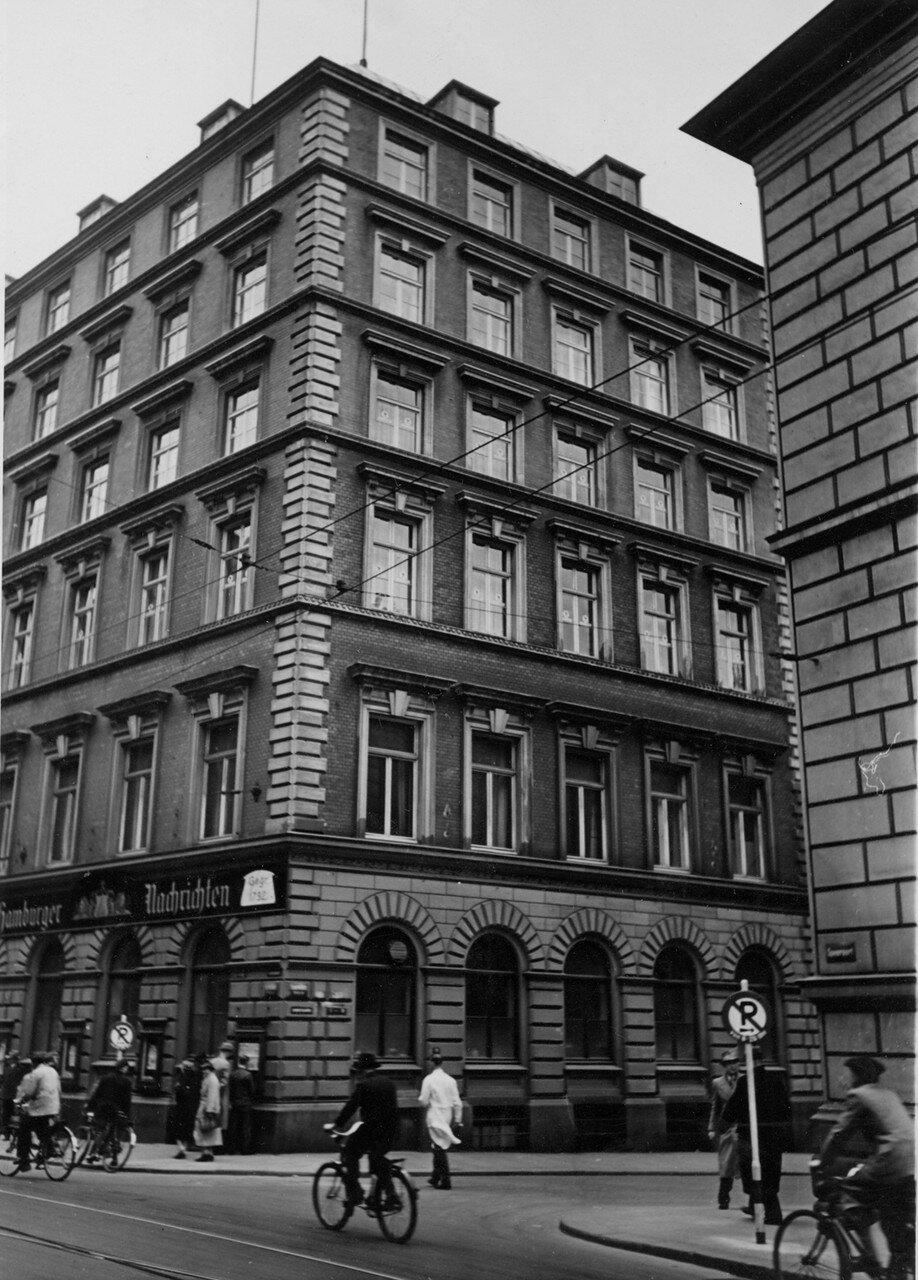 Гамбург. Здание газеты «Hamburger Nachrichten» («Гамбургские известия»)