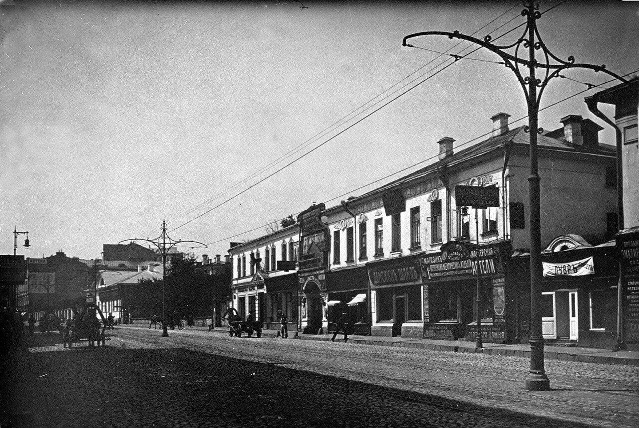 Улица Покровка в сторону центра