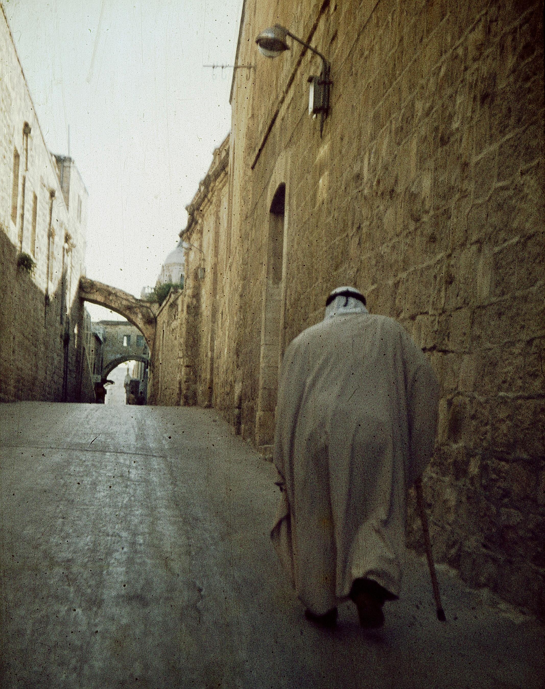 Иерусалим. Старый араб в Старом городе