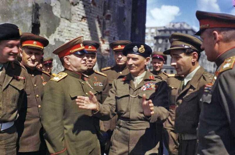 Жуков, Монтгомери и Рокоссовский. Берлин, 1945: visualhistory ...