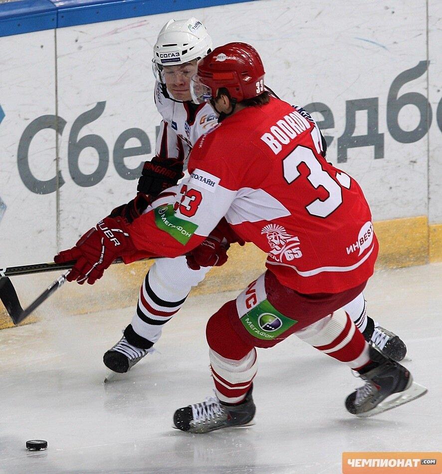 «Спартак» vs «Авангард» 3:1 чемпионат КХЛ 2011-2012 (Фото)