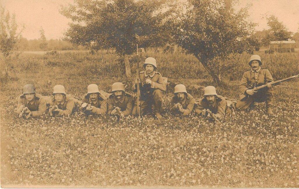 Продолжение серии фото Первой мировой